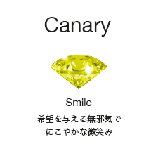 [Canary]Smile:希望を与える無邪気でにこやかな微笑み